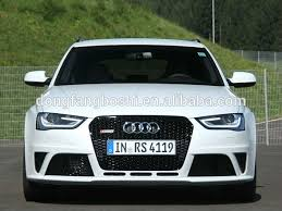 audi rs4 grill matte black car front grille rs4 grille for audi b8 rs4 08 12