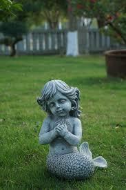 Mermaid Garden Decor 157 Best Garden Figurines Statues Images On Pinterest Garden