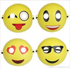 halloween party funny cartoon emoji mask face smile funny mask expressions masks for