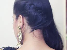 272 best half up half down with braids images on pinterest cool simple hairstyle video and best ideas of easy diwali makeup