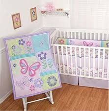 Sumersault Crib Bedding Sumersault Baby Crib Bedding Set 4 Butterfly