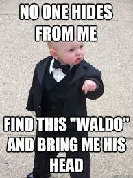 Waldo Meme - find waldo where s waldo where s wally know your meme