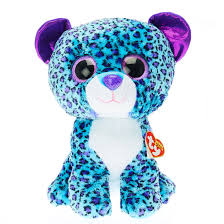 ty beanie boos large lizzie leopard soft toy claire u0027s