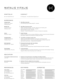 Resume For Video Production Motion Graphics Resume Free Resume Example And Writing Download