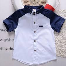 ye2139 design clothing summer fancy casual boys shirts