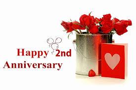 2nd year wedding anniversary 2nd year wedding anniversary wedding anniversary wishes images all