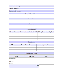 30 ready to use scope of work templates u0026 examples