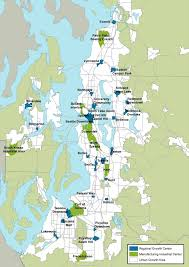 Seattle Monorail Map by Transit Isn U0027t Working In The Regional Growth Centers
