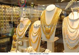 asia gold jewellery stock photos asia gold jewellery stock