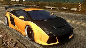 customized lamborghini gallardo need for speed the run customizing race w toyota supra
