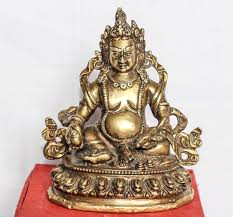 Statues Of Gods by Kuber God Brass Antique Statue God Of Wealth Kubera Lord Of