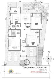 contemporary house plan modern house elevation 2831 sq ft home appliance floorplan