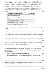 gas pressure worksheet