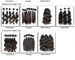 different types of hair extensions 4 aaaaa top quality human remy silky malaysian hair