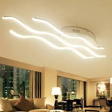 luminaires de cuisine moderne led plafonniers chaud cool blanc luminarias deckenle