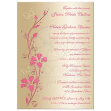 wedding invitation blush pink rose pink champagne and faux