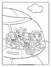 twig octonauts color colouring pages coloring