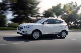 hyundai tucson silver 2016 hyundai tucson fuel cell gets homelink mirror and new colors