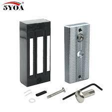 magnetic lock kit for cabinets magnetic cabinet door lock rainbowmansion org