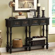 monarch i 388 48 in veneer traditional console table hayneedle