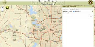 tcc south cus map locations for early voting in arlington tx for november 8 election
