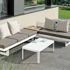 canape jardin aluminium salon jardin aluminium salon de jardin terrasse maisonjoffrois