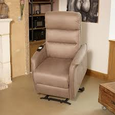 fauteuil relax releveur fauteuil relax releveur élec marron cendré univers salon