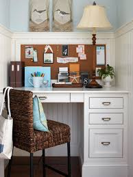 SmallSpace Home Offices Storage  Decor - Small home office space design ideas