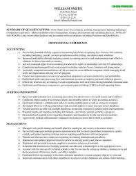 Sample Accounting Resume Skills by Sample Resume For Branch Accountant Templates