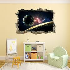 Ceiling Ls For Living Room Shop 3d Universe Galaxy Wall Sticker Living Room Floor