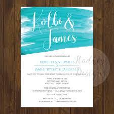 wedding invitations okc hadley designs watercolor