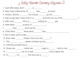 nursery rhyme baby shower 10 printable baby shower your guests will surely enjoy
