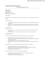 hospital resume exles hospital resume sle for study shalomhouse us