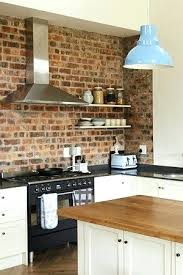 brick backsplash in kitchen brick backsplash kitchen kitchen brick picture brick kitchen