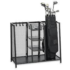 Bed Bath And Beyond Registry Wedding Metal Two Bag Golf Organizer Bed Bath U0026 Beyond