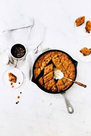 giant chocolate chip skillet cookie cake from cook u0027s country
