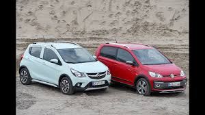 opel karl rocks opel karl rocks vs volkswagen up youtube