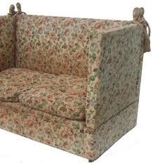 Knole Settee For Sale Large Edwardian 3 Seater Knole Sofa 120706 Sellingantiques Co Uk