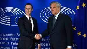 si e social bruxelles zuckerberg si scusa all ue no ingerenze in future