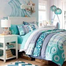 Pottery Barn Tropical Bedding Ocean Blooms Quilt Tropical Comforter Perfect For Teen Girls