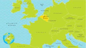Where Is Brussels Belgium On A Map Brussels On World Map Brussels Belgium On World Map Brussels