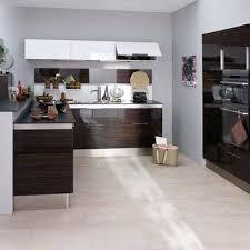 cuisine wengé meuble cuisine wenge awesome cuisine wenge et blanc images design