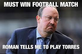 English Premier League Memes - funny premier league manager memes rafa benitez arsene wenger and