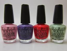 polished with pizzazz opi hawaii collection little hulas set