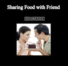 Sharing Meme - sharing food by viriya2 meme center