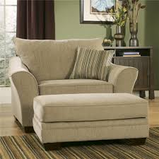 ashley furniture chair and ottoman lena putty chair and 1 2 with ottoman by ashley furniture home