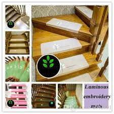 Commercial Grade Rugs 2017 Luminous Stairs Ladder Carpets Rugs Mats Cartoon Pattern