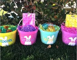 easter buckets personalized easter buckets only 9 99 freebies2deals