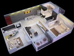 home plan design 600 sq ft 1bed room 3d home plan latest gallery photo