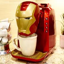 too funny hey robert downey jr we re working on your iron man will a cuppa coffee coffee maker coming soon to bed bath and beyond tide you over